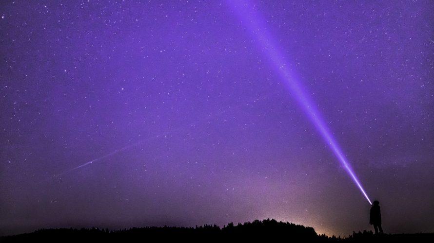 宇宙と繋がるために〜Violet blue…